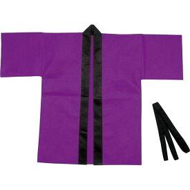 (まとめ)アーテック カラー不織布ハッピ 子供用 S 紫 【×30セット】