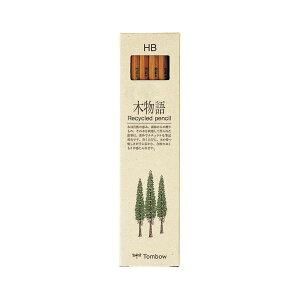 (業務用セット) トンボ鉛筆 木物語 鉛筆(リサイクル芯) LA-KEAHB 12本入 【×10セット】
