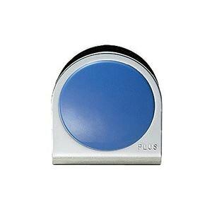 (業務用100セット) プラス カラーマグネット クリップ 大 青 ×100セット