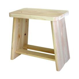 ひのき風呂椅子(バスチェア/檜製腰掛け) 大 幅31cm×奥行18cm×高さ28cm 木製 日本製