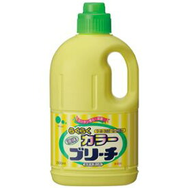 (まとめ) ミツエイ らくらくカラーブリーチ 本体 2L 1本 【×10セット】