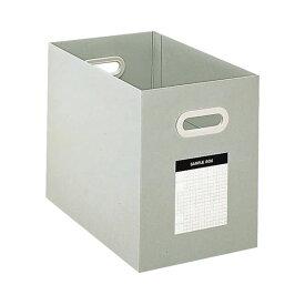 (まとめ) コクヨ サンプルボックス A4ヨコ 背幅204mm グレー A4-DFBN-M 1冊 【×5セット】