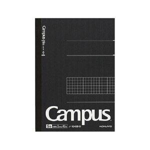(まとめ) コクヨ キャンパスノート A55mm方眼罫 40枚 ノ-104S5-D 1冊 【×30セット】