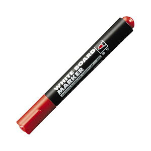 (まとめ) コクヨ ホワイトボード用マーカーペン 細字 赤 業務用パック PM-B101NR 1箱(10本) 【×10セット】