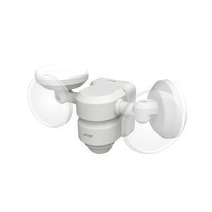 ライテックス 5W×2灯 LEDセンサーライト 広範囲タイプ LED-AC206