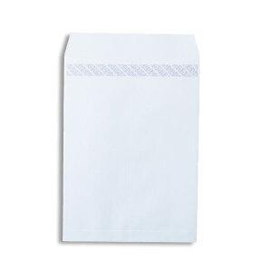 (まとめ)ピース R40再生ケント封筒テープのり付 角2 100g/m2 〒枠なし ホワイト 業務用パック 698-80 1箱(500枚)【×3セット】