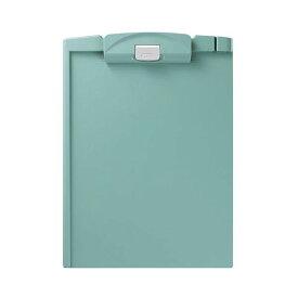 (まとめ) コクヨ クリップボードH A4タテ 緑 ヨハ-H78G 1枚 【×30セット】