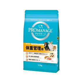 (まとめ) PRO MANAGE(プロマネージ) 成犬用 体重管理用 1.7kg 【×3セット】 (ペット用品・犬用フード)