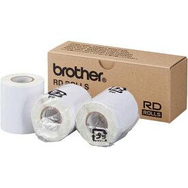 ブラザー工業 RJ-4030/4040/3050/3150用プレカット紙ラベル RD-M10J1