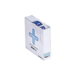 (まとめ) リヒトラブ カラーナンバーラベルMロールタイプ 「1」 HK753R-1 1箱(300片) 【×10セット】