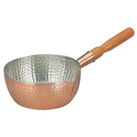 丸新銅器 銅製雪平鍋 18cm AYK07018【送料無料】
