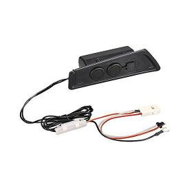 カーメイト トヨタ C-HR(ZXY10/NGX50、H28.12~) 専用 増設電源ユニット カーソケット:2口 USBポート:2口 NZ571