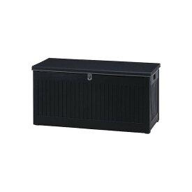 収納BOXベンチ ブラック W1090×D513×H547mm PP おしゃれ(代引不可)【送料無料】
