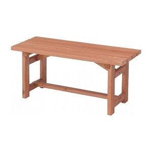 木製ベンチ90 W900×D350×H400mm 杉材 おしゃれ(代引不可)【送料無料】
