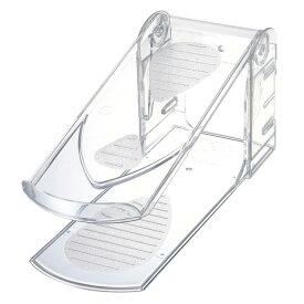 靴収納ハーフ クリア 10個組 3段階調節機能付 玄関収納 伊勢藤 靴ホルダー シューズホルダー 靴箱整理 省スペース