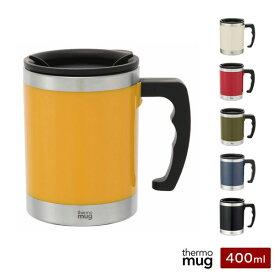 サーモマグ マグカップ Mug 400ml 保温 保冷 蓋付き thermo mug M16-40 マイカップ
