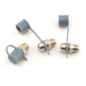 作業工具・油のグリスガンN-8 WA-675。機械へグリースを注入する際の機械側の受け入れ口です(交換用)。交換用のニップルです傾き角度、ネジ寸法でお選び下さい。