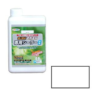 アサヒペン 屋上防水遮熱塗料専用シーラー 0.8L-ホワイト