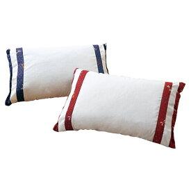 枕 そば殻枕 そば殻とひのきの和枕 2色組 カバー付き ピロー そば殻 桧チップ ひのき(代引不可)【送料無料】