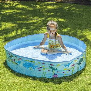 空気入れ不要 JILONG ジーロン ガーデンプール120cm ビニールプール 浮き輪 プール 家庭用 水遊び【送料無料】