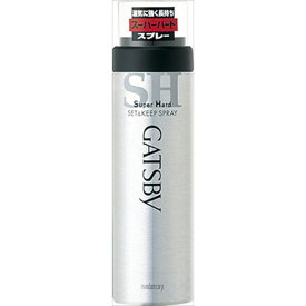 マンダム ギャツビー セット&キープスプレー スーパーハード 180G 化粧品 男性化粧品 スタイリング剤(代引不可)