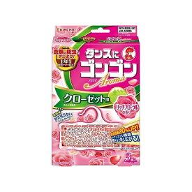 大日本除虫菊 ゴンゴンアロマ クローゼット用N 3個入 リッチフローラルの香り(代引不可)