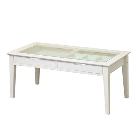 ine アイネ reno リノ collection table コレクションテーブル ローテブル テーブル アンティーク シンプル INT-2576WH (代引き不可)【送料無料】