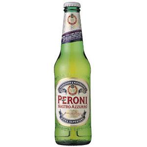 イタリア ペローニ ナストロアズーロ 瓶 輸入ビール 330ml×24本
