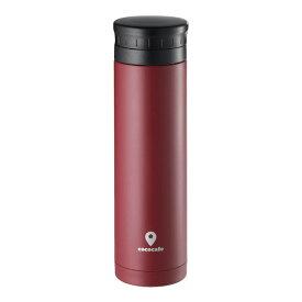 カクセー CC-303 ココカフェ 真空二重マグ 300ml レッド タンブラー cococafe 水筒 保温 保冷 ステンレス マグボトル 魔法瓶