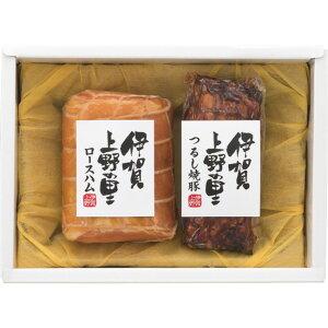 【返品・キャンセル不可】 伊賀上野の里 ロースハム&つるし焼豚 ハム・ソーセージ SA-30A(代引不可)