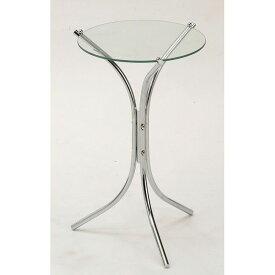 ガラステーブル サイドテーブル アンティーク ガラステーブル ガラス シンプル キレイめ スタイリッシュ 収納 インテリア(代引不可)【送料無料】
