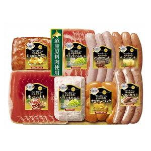 丸大食品 お中元 国産 北の国から北海道物語 8点セット HDS-40 ハム 生ハム フランク ウィンナー サラミ 贈り物 ご挨拶 ギフト(代引不可)【送料無料】