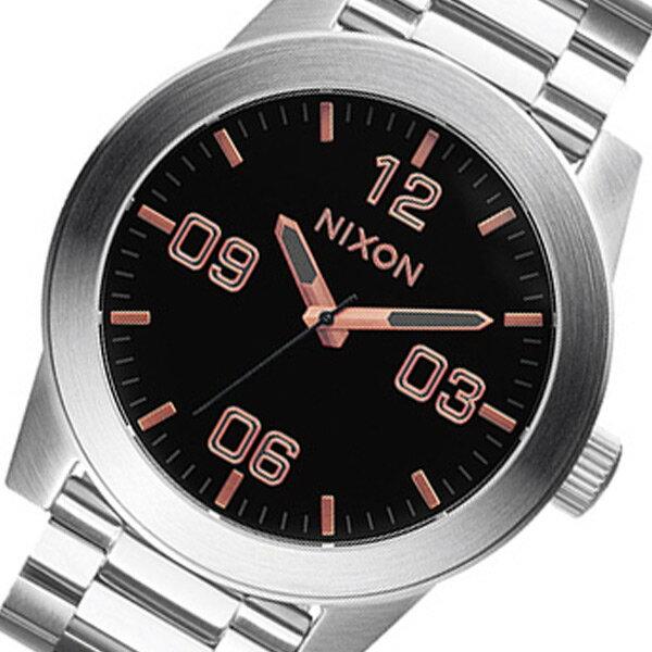 ニクソン クオーツ メンズ 腕時計 時計 A346-2064 グレイ/ローズゴールド【楽ギフ_包装】