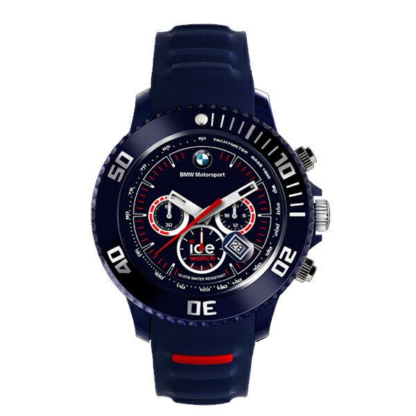 アイスウォッチ BMW ビッグ クオーツ メンズ クロノ 腕時計 時計 BM.CH.DBE.B.S.13【楽ギフ_包装】