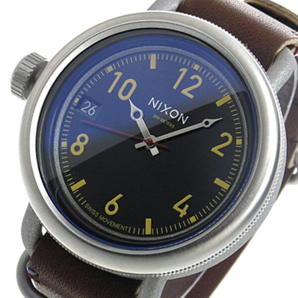 ニクソン NIXON オクトーバー クオーツ メンズ 腕時計 時計 A279-019 ブラック【楽ギフ_包装】
