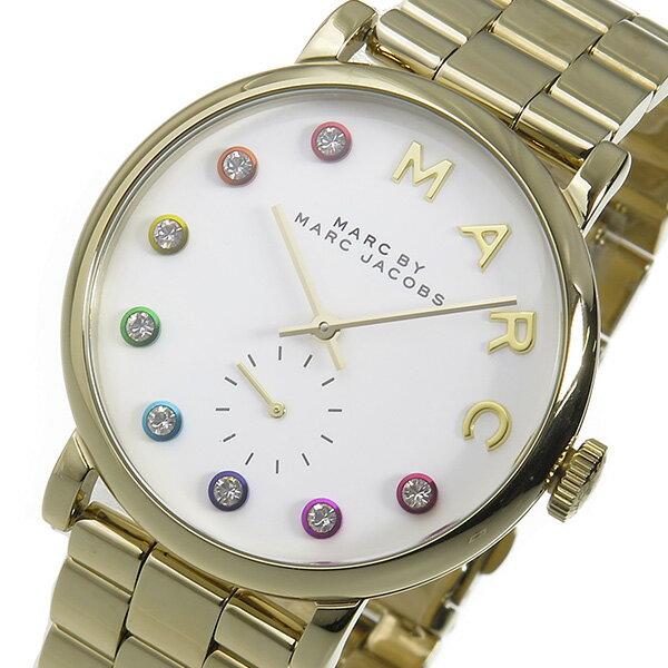 マーク バイ マークジェイコブス ベイカー レディース 腕時計 時計 MBM3440 ホワイト【楽ギフ_包装】