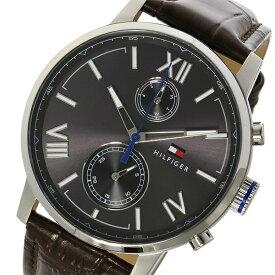 トミー ヒルフィガー TOMMY HILFIGER クオーツ メンズ 腕時計 時計 1791309 メタリックグレー