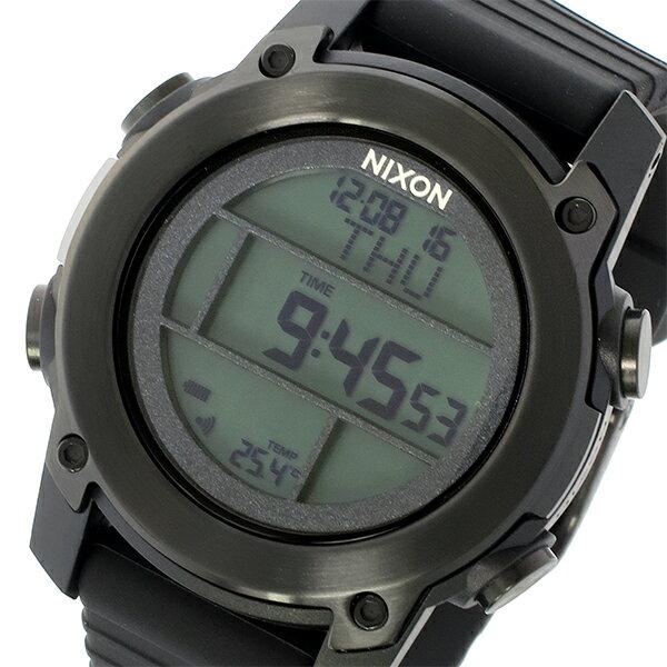 ニクソン NIXON ユニット ダイブ THE UNIT DIVE クオーツ メンズ 腕時計 時計 A962-001 ブラック【楽ギフ_包装】