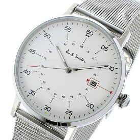 ポールスミス PAUL SMITH ゲージ GAUGE クオーツ メンズ 腕時計 時計 P10075 ホワイト