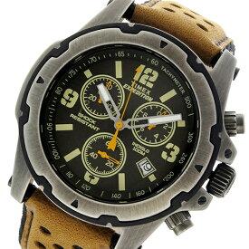 タイメックス TIMEX エクスペディション EXPEDITION クロノ クオーツ メンズ 腕時計 時計 TW4B01500 ブラック