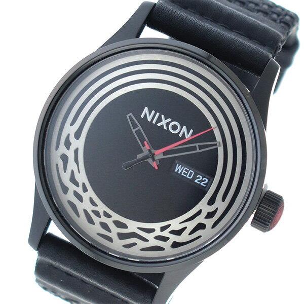 ニクソン NIXON スターウォーズ コレクション クオーツ メンズ 腕時計 時計 A1067SW2444 ブラック【楽ギフ_包装】