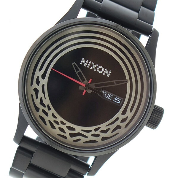 ニクソン NIXON スターウォーズ コレクション クオーツ メンズ 腕時計 時計 A356SW2444 ブラック【楽ギフ_包装】