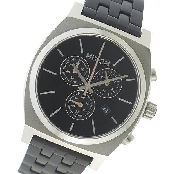 ニクソン NIXON クオーツ メンズ 腕時計 時計 A972-2541 ブラック【楽ギフ_包装】