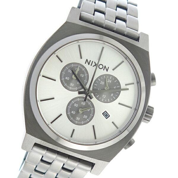 ニクソン NIXON クオーツ メンズ 腕時計 時計 A972-632 シルバー【楽ギフ_包装】