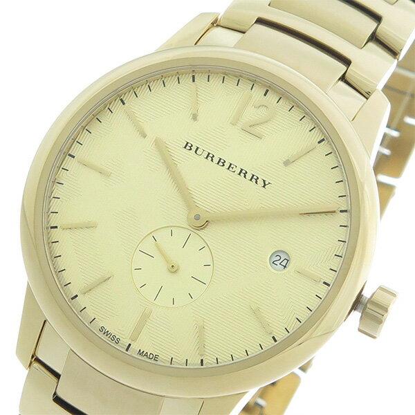 バーバリー BURBERRY クオーツ メンズ 腕時計 BU10006 ゴールド/ゴールド【送料無料】【楽ギフ_包装】