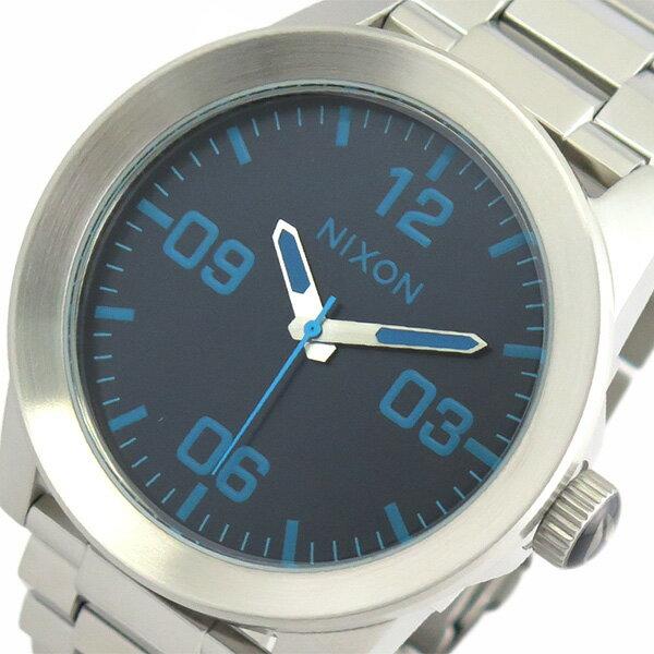 ニクソン NIXON 腕時計 時計 メンズ A3462219 クォーツ ブルー シルバー【楽ギフ_包装】