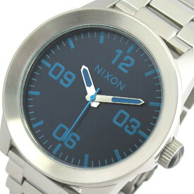 ニクソン NIXON 腕時計 時計 メンズ A3462219 クォーツ ブルー シルバー
