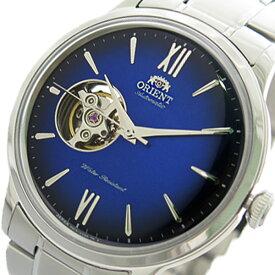 オリエント ORIENT 腕時計 時計 メンズ RN-AG0017L 自動巻き ブルー シルバー