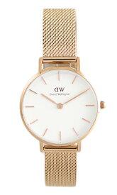 ダニエルウェリントン DANIEL WELLINGTON 腕時計 レディース DW00100219 クォーツ ピンクゴールド ホワイト【送料無料】