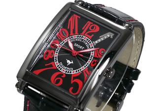 ミシェルジョルダン SPORT 腕時計 天然ダイヤ SG-3000-1